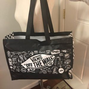 379c3ec1ad Vans Off the Wall Tote large bag shopping